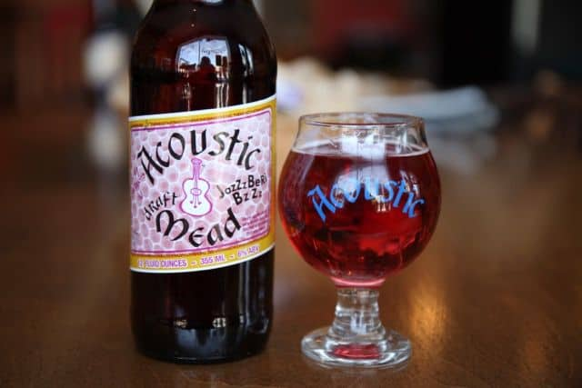 Acoustic Brewing Company JazZzBeRi BzZz Mead