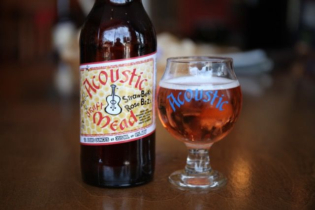 Acoustic Brewing Company StrawBeRi Rose BzZz