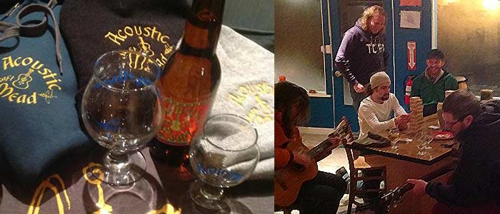 Enjoy live music, mead, cider and good times at Acoustic Brewing Company