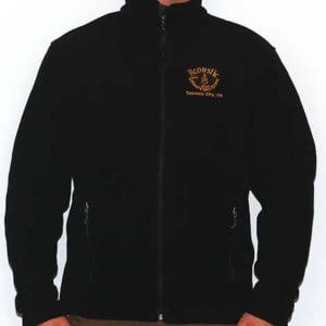 Mens Fleece Jacket - Black